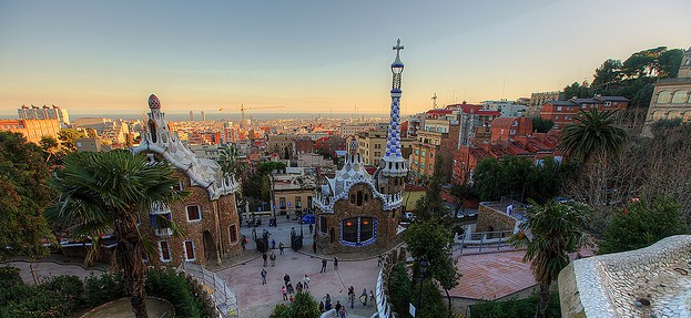 Parc Guell a Barcellona, tra arte e natura