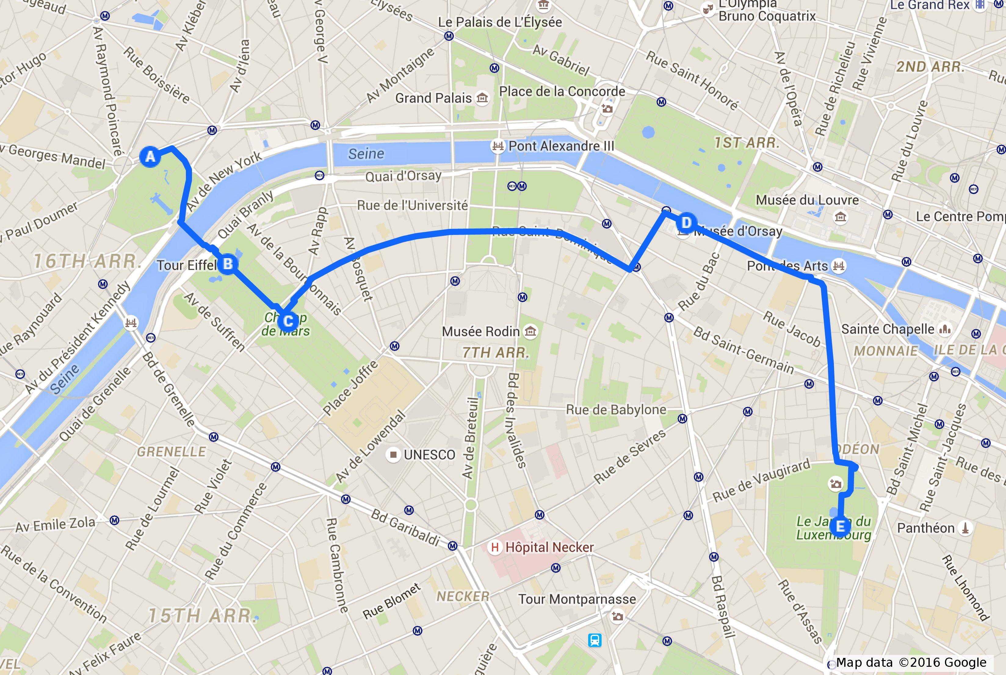 Cartina Parigi Con Quartieri.3 Giorni Di Emozioni A Parigi Il Mio Itinerario Strade Parole